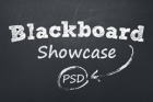 Psd Blackboard Showcase Slider