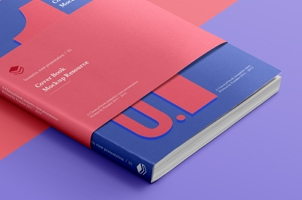 Psd Book Cover Isometric