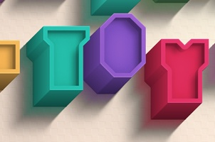 Psd Brick Toy Text Effect