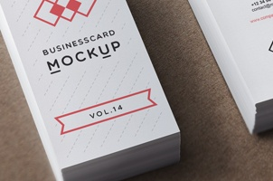 Psd Business Card Mock-Up Vol14