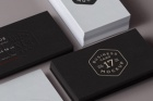 Psd Business Card Mock-Up Vol17