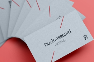 Psd Business Card Mock-Up Vol21