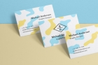 Psd Business Card Mock-Up Vol36