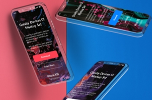 Psd Iphone Transparent Mockup