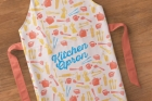 Psd Kitchen Apron Mockup Template