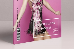 Psd Magazine Mockup View Vol4