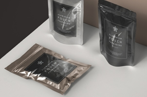 Psd Metal Foil Packaging Mockup Vol2