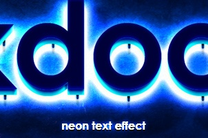 Psd Neon Text Effect Vol2