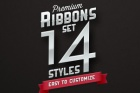 Psd Ribbon Pack Styles