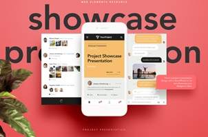 Psd Showcase Project Presentation Vol2