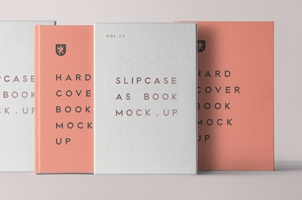 Psd Slipcase Book Mockup Vol2