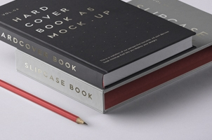 Psd Slipcase Book Mockup Vol4