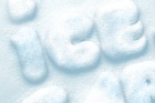 Psd Snow Text Effect