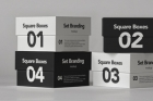 Psd Square Box Mockup Set