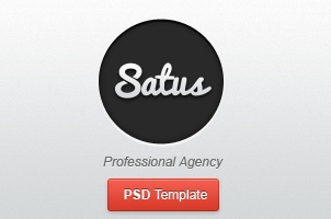 Satus Agency Psd Web Template