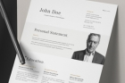 Simple Resume template 14