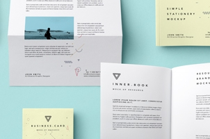 Simple Stationery Branding Vol4