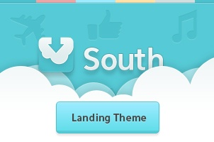 South Psd Web App Template