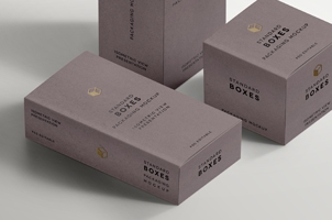 Standard Packaging Box Mockups