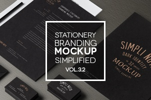 Stationery Branding Mock Up Vol 3-2