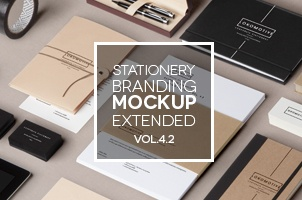Stationery Branding Mock Up Vol 4-2