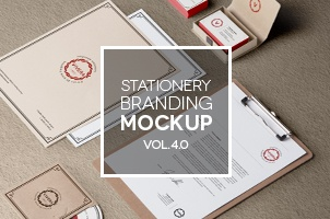 Stationery Branding Mock Up Vol 4