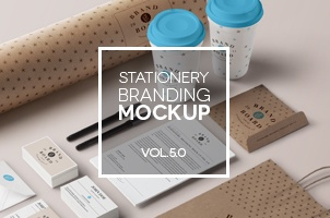 Stationery Branding Mock Up Vol 5