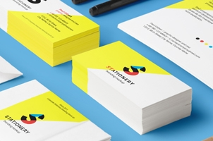 Stationery Psd Presentation Mockup