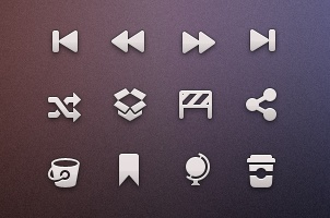 Tab Bar Icons iOS vol6