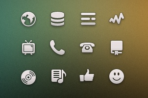 Tab Bar Icons iOS vol7