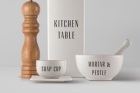 Tableware Psd Mockup Vol5