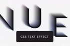 Tenue Css3 Text Effect
