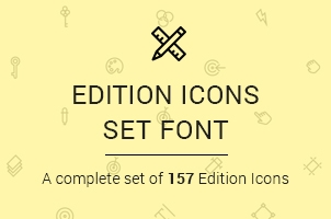 The Icons Font Set :: Edition