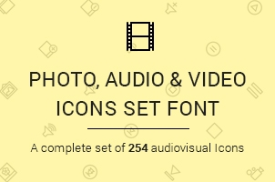 The Icons Font Set :: Media