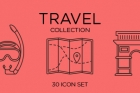 Travel Icons Collection Set Vol2