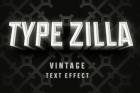 Type Zilla Psd Text Effect