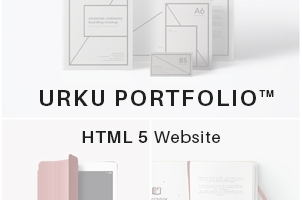 Urku HTML5 Portfolio Website