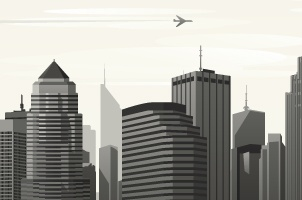 Vector City Skyline Vol1