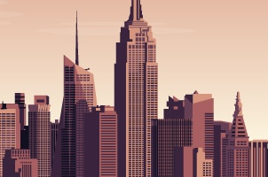 Vector City Skyline Vol2