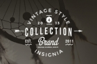 Vintage Badges Presentation Vol 4