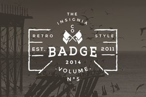 Vintage Badges Presentation Vol 5