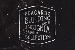 Vintage Badges Presentation Vol 7