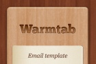 Warmtab HTML Newsletter Template