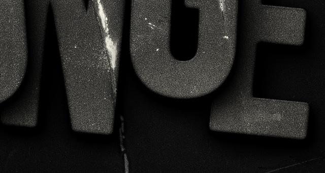 dark grunge psd text effect