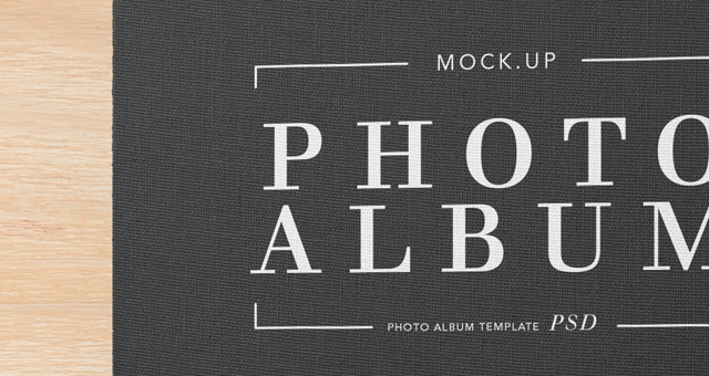 Psd Photo Album Mockup Template V2 Psd Mock Up Templates