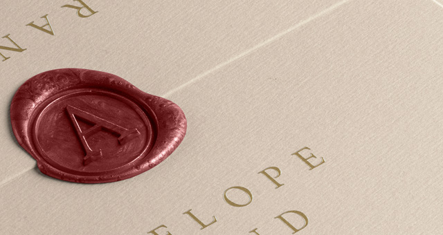 Psd Enveloppe Wax Seal Mockup | Psd Mock Up Templates ...