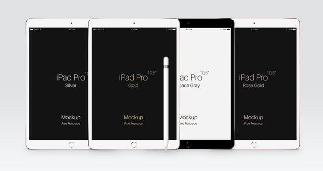 psd ipad pro 10-5 mockup template | psd mock up templates | pixeden, Powerpoint templates