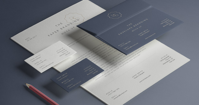 Basic stationery branding vol 13 psd mock up templates pixeden basic stationery branding vol 13 reheart Gallery