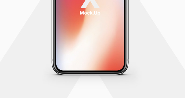iphone x psd mockup vector title title