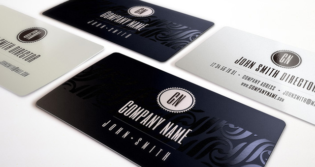 Premium and free business cards templates pixeden elegant business card vol1 accmission Image collections